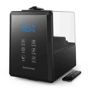 Elechomes Warm Mist Ultrasonic Humidifier