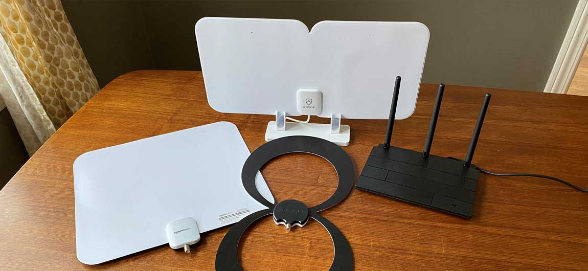 Long Range TV Antennas
