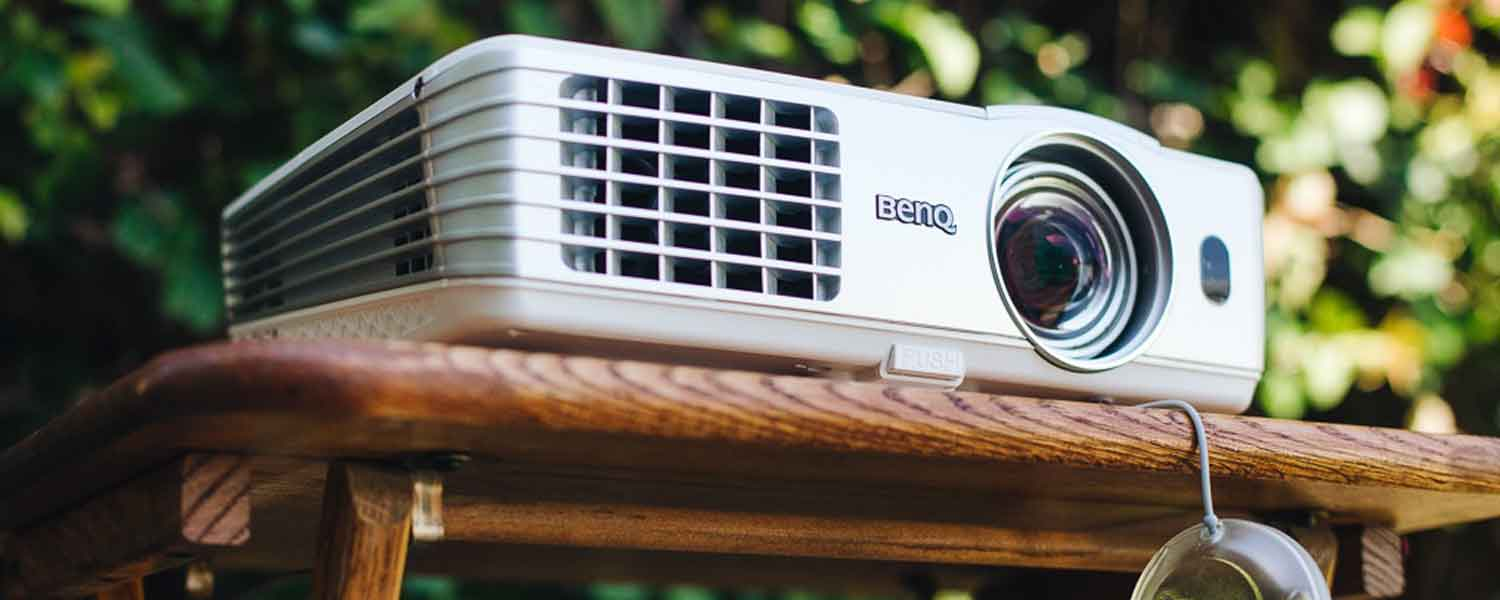 How to project a movie outside without a projector?