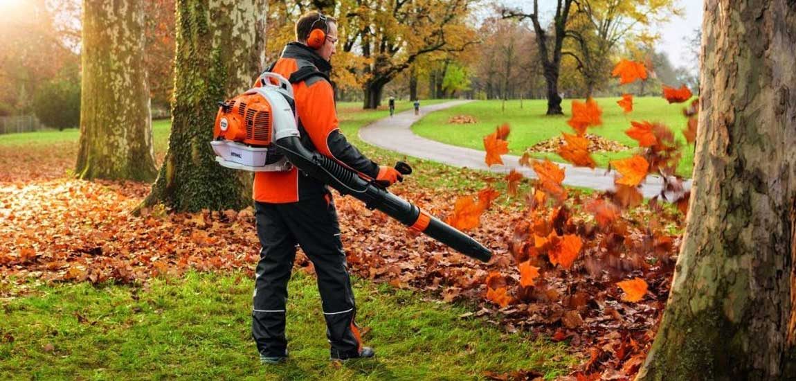 Battery Powered Leaf Blowers