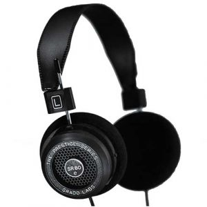 Grado Series SR80E Open Back Stereo Headphones