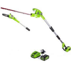 Greenworks 8 Inch 40V Cordless Pole Saw