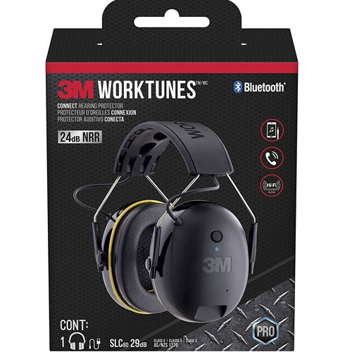 3M - 90543-4DC WorkTunes Connect Hearing Protection Headphones