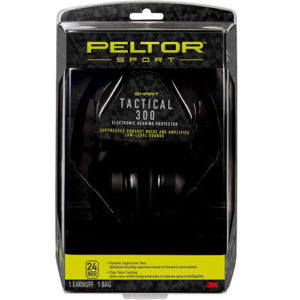 Peltor Sport Tactical 300 Bluetooth Hearing Protection Headphones