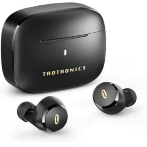 TaoTronics Bluetooth Wireless Earbuds with AptX Stereo Bass